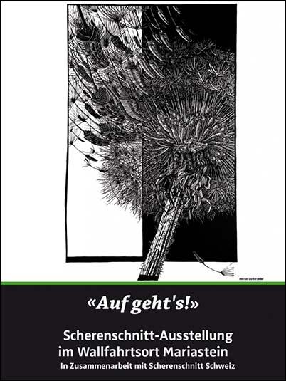 Auf geht's! – Scherenschnitt-Ausstellung